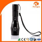 Duke ultra brillante XML-T6 LED 18650 recargable de aluminio zoom táctico linterna G700