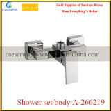 Do chuveiro de bronze da água do banheiro corpo ajustado