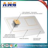 Cartão esperto do contato de RFID Digitas uma memória de 256 bytes