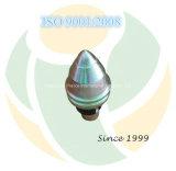 dentes do eixo helicoidal dos bits de rocha dos dentes da bala de 30/60/22mm (B47K22H/60)