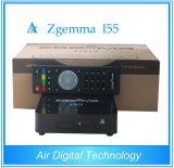 Ricevente doppia vendibile globale dell'inseguitore di OS E2 WiFi di Linux di memoria del CPU di Zgemma I55 della casella di IPTV alta
