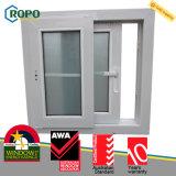 Disegno della griglia di finestra di scivolamento di effetto di uragano del PVC