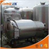 Réservoir d'extracteur d'herbe de chauffage de veste de vapeur