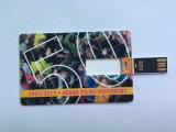mecanismo impulsor caliente del flash del USB de la tarjeta de visita de la venta de los servicios 24h con la impresión a todo color