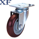 4 Inch PU Swivel Caster Wheel für Industrial Usage