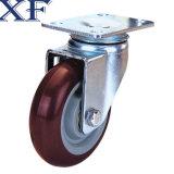 4 het Wiel van de Gietmachine van de Wartel van de duim Pu voor Industrieel Gebruik