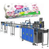 Het midden Toiletpapier van Zakken rolt het Bundelen (Halfautomatische) Machine