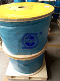 Câble métallique d'acier inoxydable 304 7X19-9.53mm