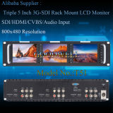 三倍5 Inch 2ru Rack Mount LCD Monitor
