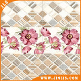 Material de construcción Inkjet Water-Proof Ceramic Bathroom Floor Wall Tile