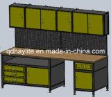 Populäre Stahlgarage-Werkbänke mit Pegboard
