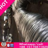 El alto carbón galvanizado rico enderezó el alambre de acero