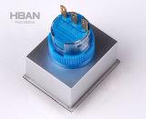 Quadratischer Hauptschalter 5A/250VAC UL-Certificatd 22mm