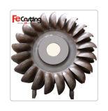 、延性がある鉄の鋳造砂型で作る、OEMの金属CNCの機械化を用いる鋼鉄鋳造