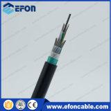 Высокая Открытый качества стальной проволоки, Центральный силовой элемент кабеля волокна (GYTZS)