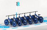 공중 자전거 보석 파란 지적인 교정 공중 산악 자전거