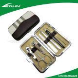7 в 1 комплекте инструмента внимательности ногтя стали углерода с случаем PU
