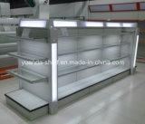 Estante de visualización cosmético del supermercado de calidad superior