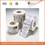 Autoadesivo adesivo termico della stampante del documento di trasferimento di stampa su ordinazione del codice a barre