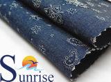 ткань джинсовой ткани жаккарда хлопка 3.8OZ для одежды
