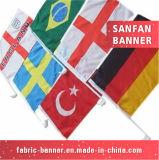 Bandeira nacional da bandeira do Teardrop da impressão com material do cabo flexível