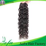 Extensión camboyana 100% del pelo humano de la Virgen de Remy del color natural barato