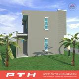 China pré-fabricou a casa da casa de campo com tamanho e projeto personalizados do prefeito