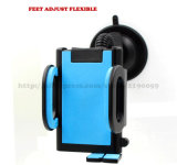 Sostenedor móvil del corchete del montaje del coche del teléfono celular del parabrisas largo universal del brazo para su soporte del teléfono móvil para el iPhone GPS MP4