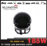 185W indicatore luminoso chiaro dell'indicatore luminoso di azionamento del lavoro rotondo del CREE LED 12V LED per il camion fuori strada