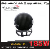 185W円形のクリー族LED作業オフロードトラックのための軽いドライビング・ライト12V LEDライト