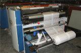 PVC auto, papel de Kraft, maquinaria no tejida del corte