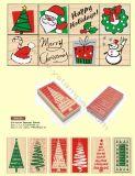 아이 DIY 물개 인쇄 목제 우표 장난감