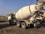 Schang-Hai 6~8cbm/10~20ton 6*4-LHD-Drive Nissan Manuali-Hydraulic-Transform Ud Concrete Mixer Truck