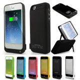 iPhone 5g 5s 5c를 위한 4200mAh External Power 은행 Charger Pack Backup Battery Case