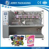 Machine de conditionnement automatique d'emballage de poche de nourriture pour la poudre et le remplissage liquide