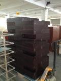 Gabinetes de medicina abiertos de madera sólida del arce