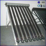 Colector solar de cristal a presión del tubo de calor del tubo de vacío del metal
