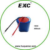 최신 판매 Exc18650 4000mAh 3.7V Li 이온 건전지 팩