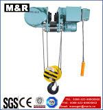 Alzamiento de cadena eléctrico de la cuerda de alambre con velocidad sola/doble