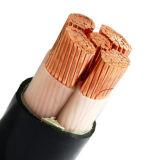 El cable de la baja tensión, PVC aisló el cable