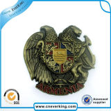 Nouveaux badges Logo Epoxy en métal personnalisé à vendre