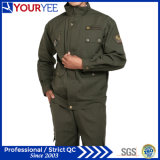 Темнота нового Workwear типа равномерная - зеленый костюм (YMU107)