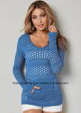 Lavori o indumenti a maglia classici della Jersey del cavo di Hotsales delle donne