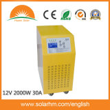 (X9-T20212-30) invertitore solare puro dell'onda di seno 12V2000W con il regolatore
