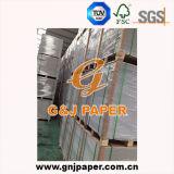 Papier Produit-Mécanique de duplex de pulpe avec le dos de gris