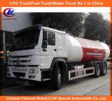 20m3 10ton LPG Zufuhr-mobiler Zylinder, der Bobtail LKW füllt