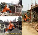 Mini bomba do misturador concreto de maquinaria de construção do reboque C3