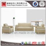 Sofa en cuir personnalisé d'unité centrale de bureau de sofa de noir moderne de modèle réglé (NS-D6007)