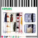 Cacifos coloridos do armazenamento do engranzamento de fio para o mercado BRITÂNICO