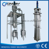 Machine van de Reiniging van de Olie van de Roterende Evaporator van de Apparatuur van de VacuümDistillatie van de Distillateur van de Dunne Film van Tfe de Hoge Efficiënte Geageerde Gebruikte Koel